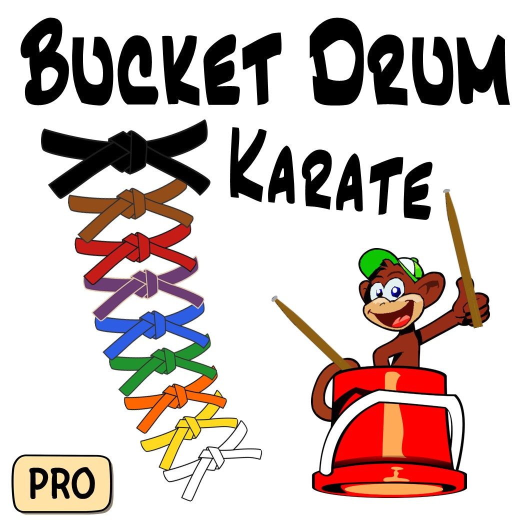 Bucket Drum Karate Pro Music In Everything